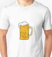 Beer Mug Drawing T-Shirt