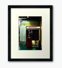 Pronto Phot Framed Print