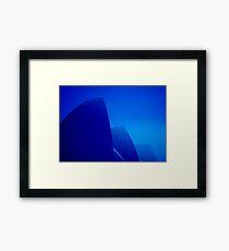 Opera House Blues Framed Print