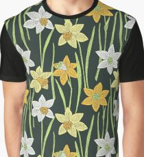 Daffodils pattern Graphic T-Shirt