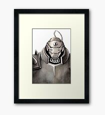 The soul in the armour Framed Print