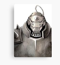 The soul in the armour Canvas Print