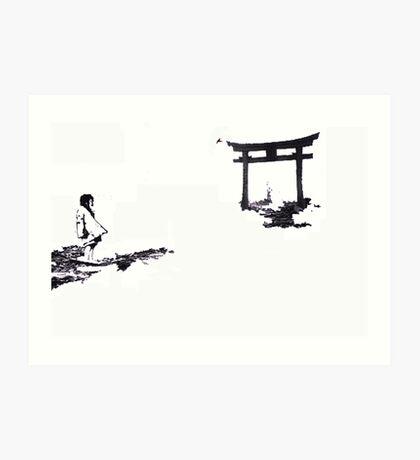 nagosaki arch Art Print