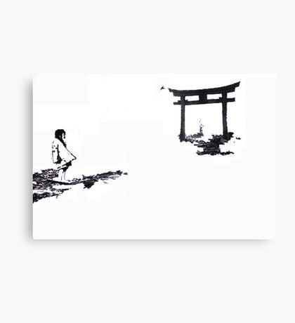nagosaki arch Canvas Print