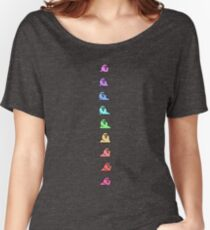 PartyParrot - Conga Line (Alternate) Women's Relaxed Fit T-Shirt