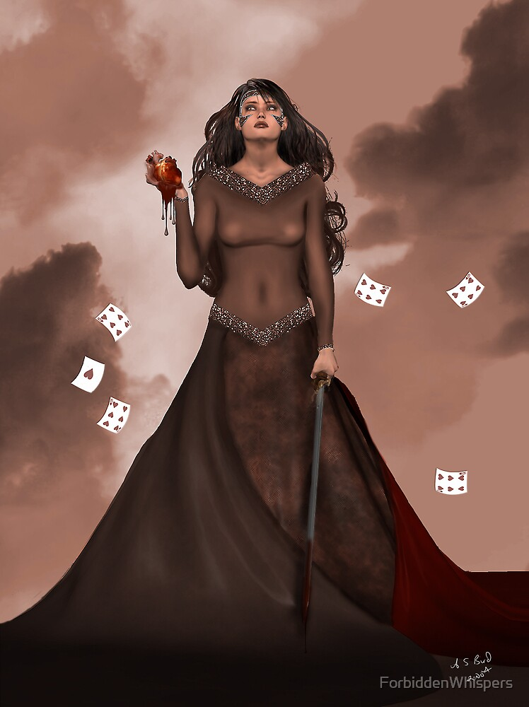Queen of Hearts by ForbiddenWhispers