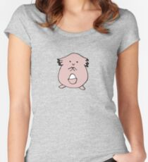 Cute Chansey Women's Fitted Scoop T-Shirt