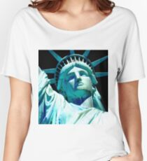 STATUE OF LIBERTY 4 Women's Relaxed Fit T-Shirt
