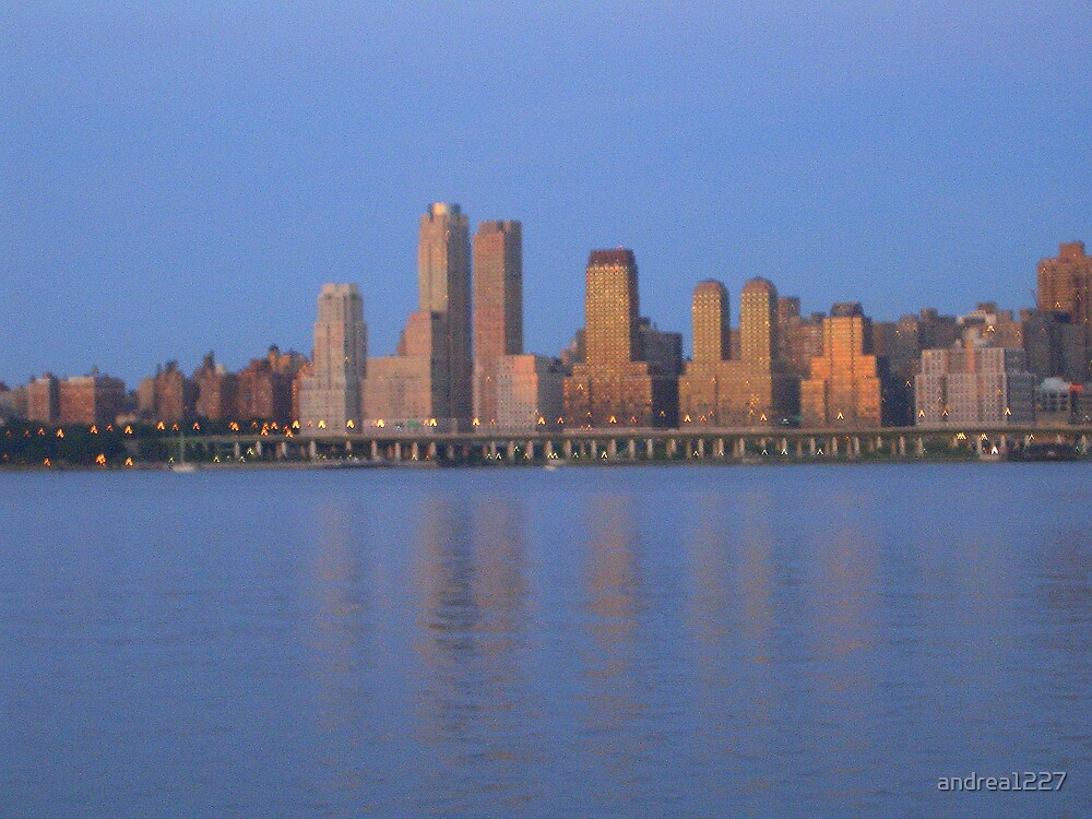 NYC From The Hudson by andrea1227