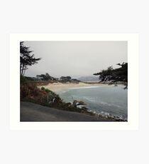 Carmel Beach, Carmel-by-the-Sea Art Print