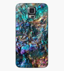 Turquoise Oil Slick Quartz Case/Skin for Samsung Galaxy