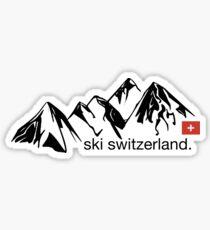Ski Switzerland  Sticker