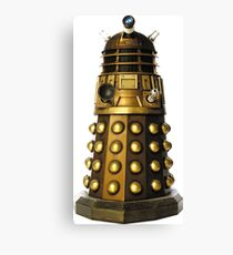 Dalek-table  Canvas Print