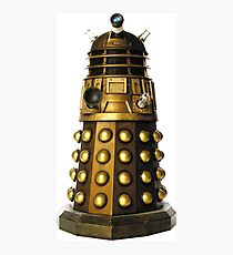 Dalek-table  Photographic Print