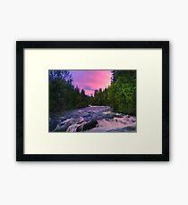 Mystic River Framed Print