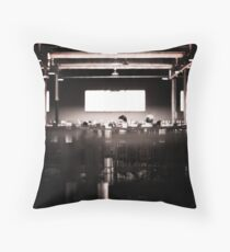 In The Hen House Throw Pillow