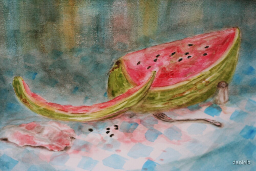 watermelon by daniels