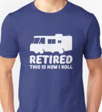Im Ruhestand - So rolle ich RV Slim Fit T-Shirt