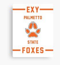 PSU Foxes - Exy Team Canvas Print