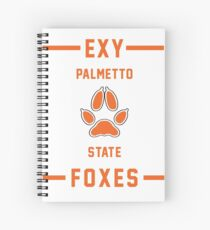 PSU Foxes - Exy Team Spiral Notebook