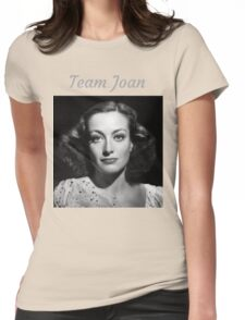 Team Joan Crawford Forever! Womens Fitted T-Shirt