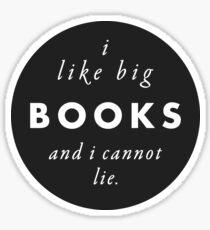 Pegatina Grandes libros amor