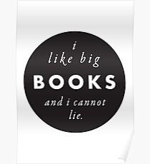 Big Books Love Poster
