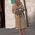 Shoeless Mendicant by phil decocco