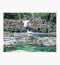 Natural Myra Falls Photographic Print