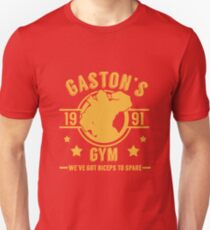 Gaston's Gym (Red & Yellow Version) Unisex T-Shirt