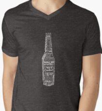 Boston Beer Bottle Men's V-Neck T-Shirt