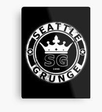 seattle grunge 2 Metal Print