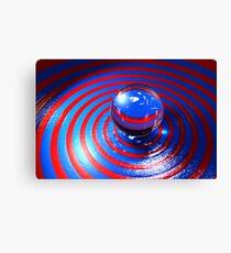 Spiral Tide Canvas Print