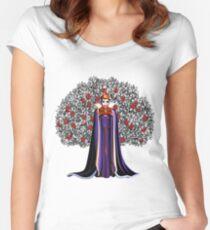 Camiseta entallada de cuello redondo La verdadera reina malvada