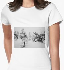 Snowstorm in the forest T-Shirt