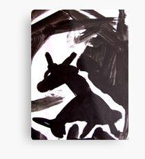 Horsey 6 Metal Print