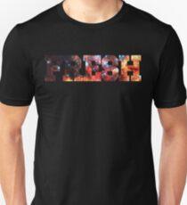 Colorful Colliding Star Clusters | Fresh Universe Logo Unisex T-Shirt
