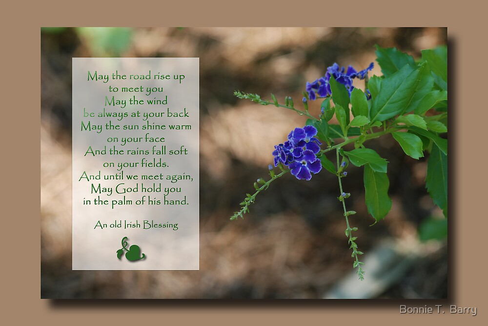 Irish Blessing by Bonnie T.  Barry
