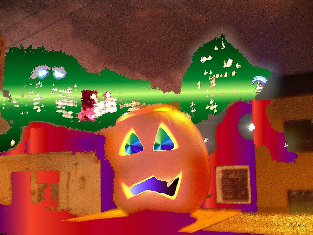 Pumpkin Head by rufela