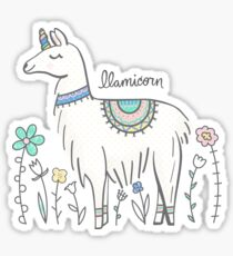 Llamicorn Sticker