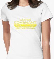 Covenant Weyland-Yutani (Light) Womens Fitted T-Shirt
