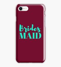 Bridesmaid Bachelorette Party Wedding iPhone Case/Skin