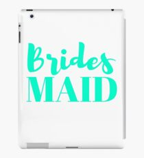Bridesmaid Bachelorette Party Wedding iPad Case/Skin