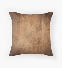 Weathered concrete wall Throw Pillow