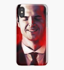 James Moriarty & Red iPhone Case