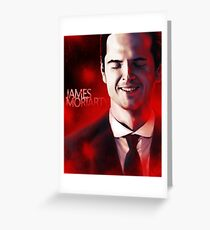 James Moriarty & Red Greeting Card