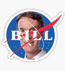 Bill Nye NASA Logo Sticker