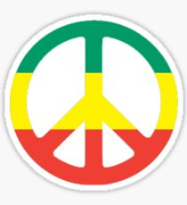 Reggae Peace Sticker