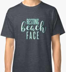 Resting Beach Face Classic T-Shirt
