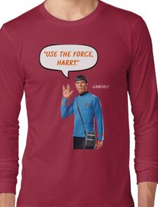 Use the force, Harry Long Sleeve T-Shirt